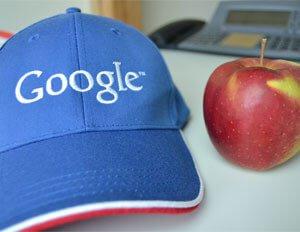 Bei Google ganz nach oben